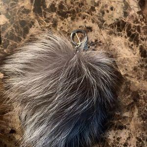 Michael Kors Fur Bag Charm